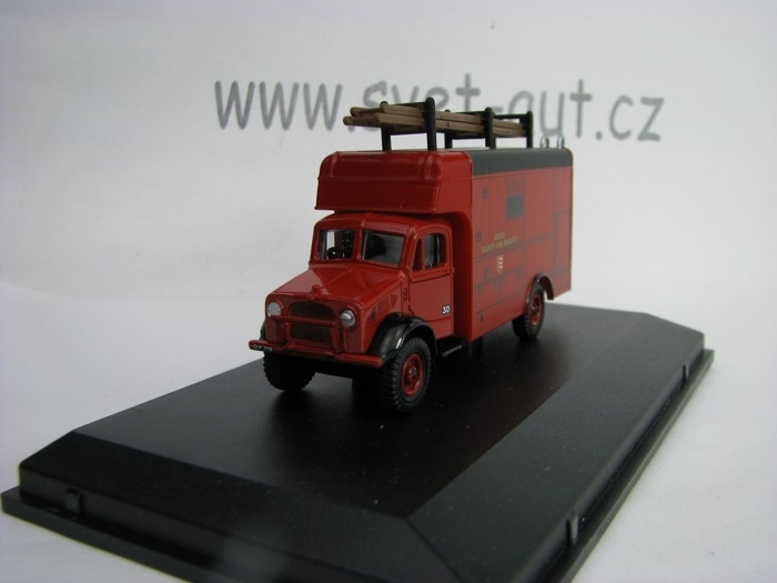 Bedford OW Luton Essex fire brigade 1:76 Oxford