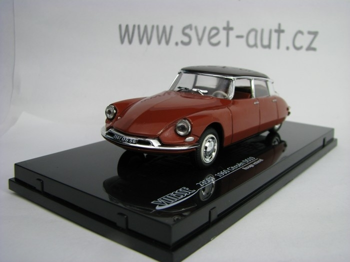 Citroen DS19 1960 Rouge esterel 1:43 Vitesse