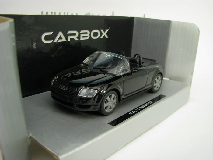 Audi TT Roadster Black 1:43 Cararama Carbox