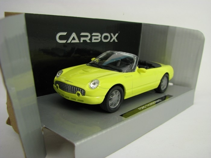 Ford Thunderbird yellow 1:43 Carbox