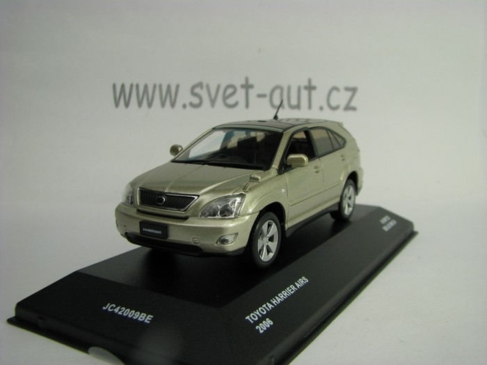 Toyota Harrier AIRS 2006 Beige metal 1:43 J-collection