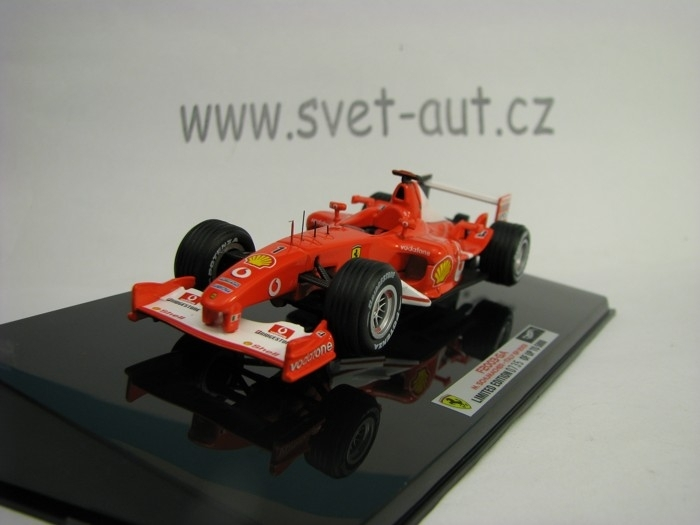 Ferrari F2003 - GA M. Schumacher Italy GP 2003 1:43 Hot wheels Elite