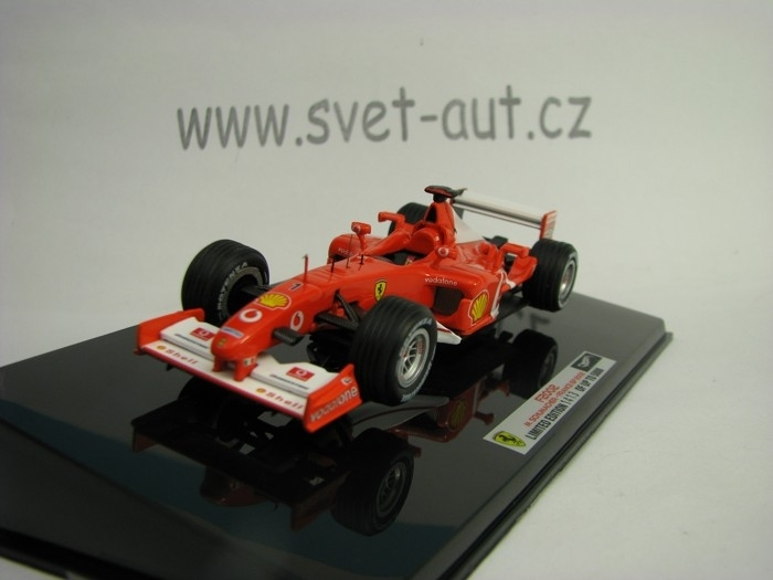 Ferrari F2002 M. Schumacher France GP 2002 1:43 Hot wheels Elite