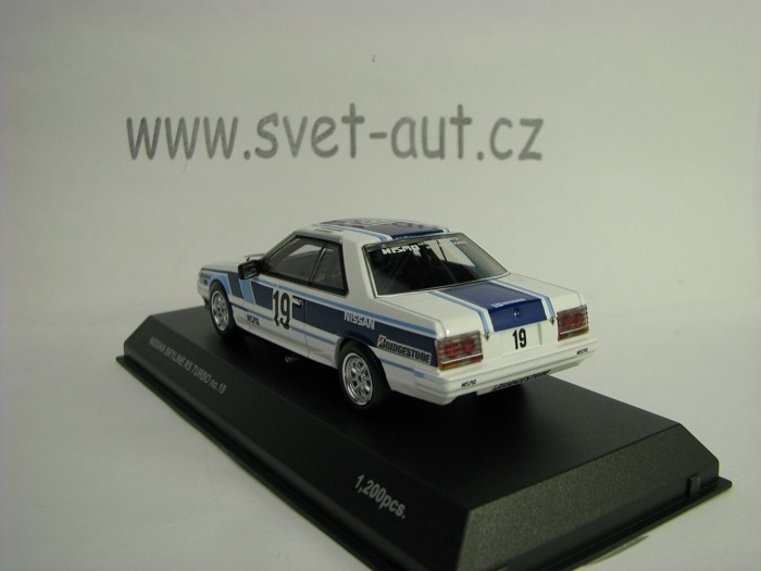 Nissan Skyline RS Turbo1985 No19 1:43 Kyosho