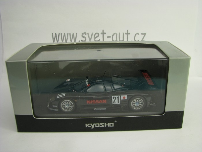 Nissan R390GT1 1997 Pre-Qualifications No.21 1:43 Kyosho