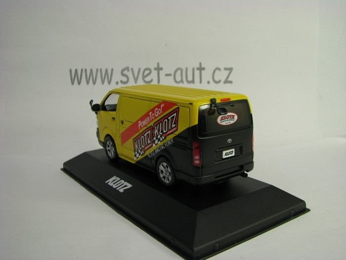 Toyota HI-ACE Klotz Racing Power 2007 1:43 J-collection
