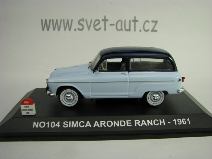 Simca Aronde Ranch 1961 1:43 Nostalgie