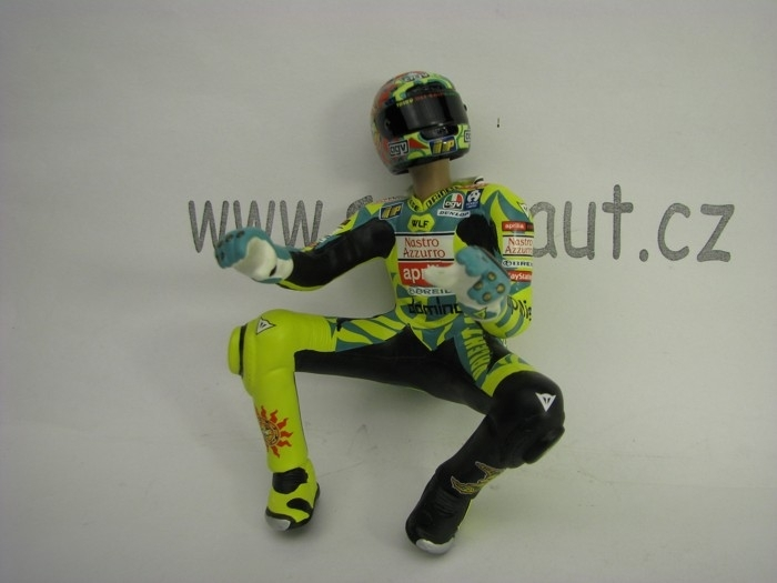Figurine Riding Valentino Rossi 250ccm GP Mugello 1999 1:12 Minichamps