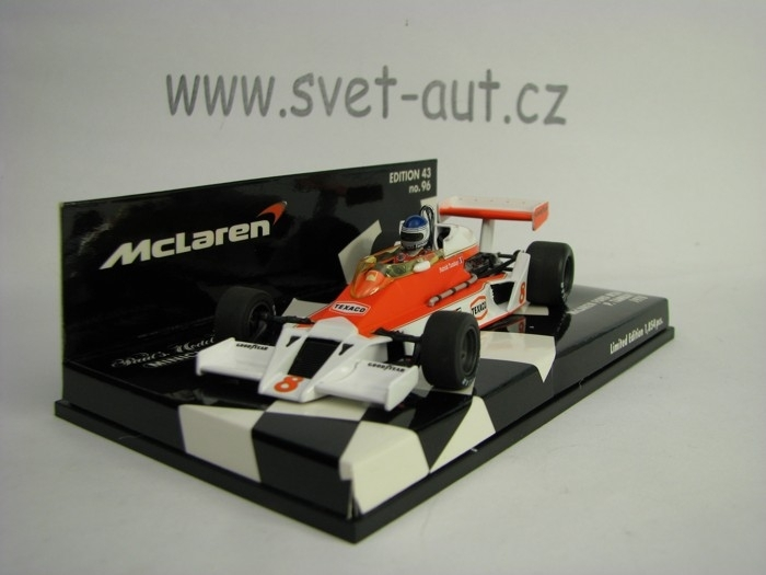 McLaren Ford M26 Patric Tambay No.8 1978 1:43 Minichamps