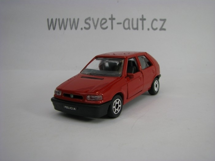 Škoda Felicia Red 1:43 unknown China