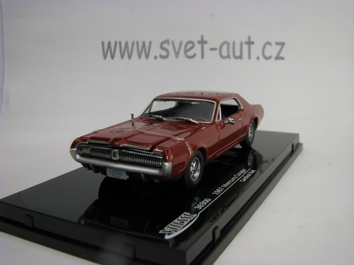 Mercury Cougar 1967 Cardinal Red 1:43 Vitesse