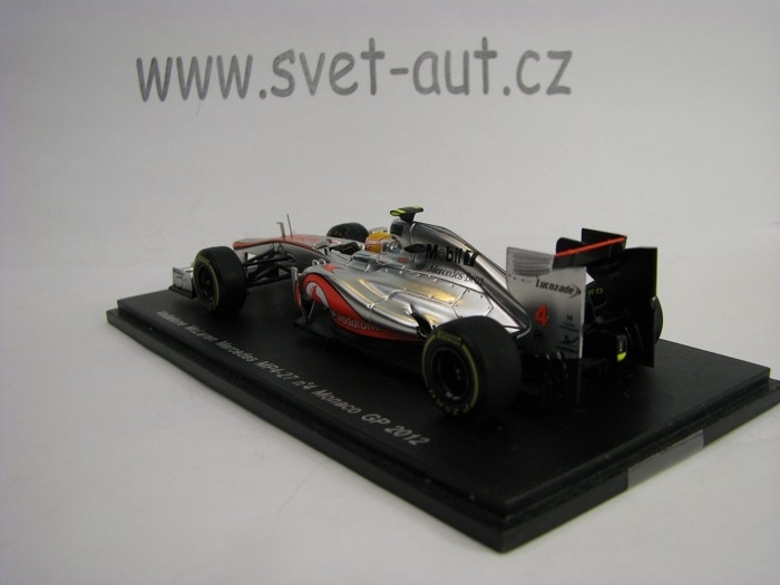 Vodafone McLaren Mercedes MP4-27 No.4 Hamilton Monaco GP 2012 1:
