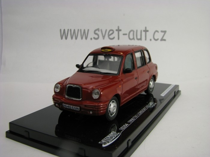 TX1 London Taxi Cab 1998 Targa Red 1:43 Vitesse