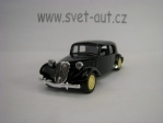 Citroen Traction Avant Black 1:43 Solido blistr