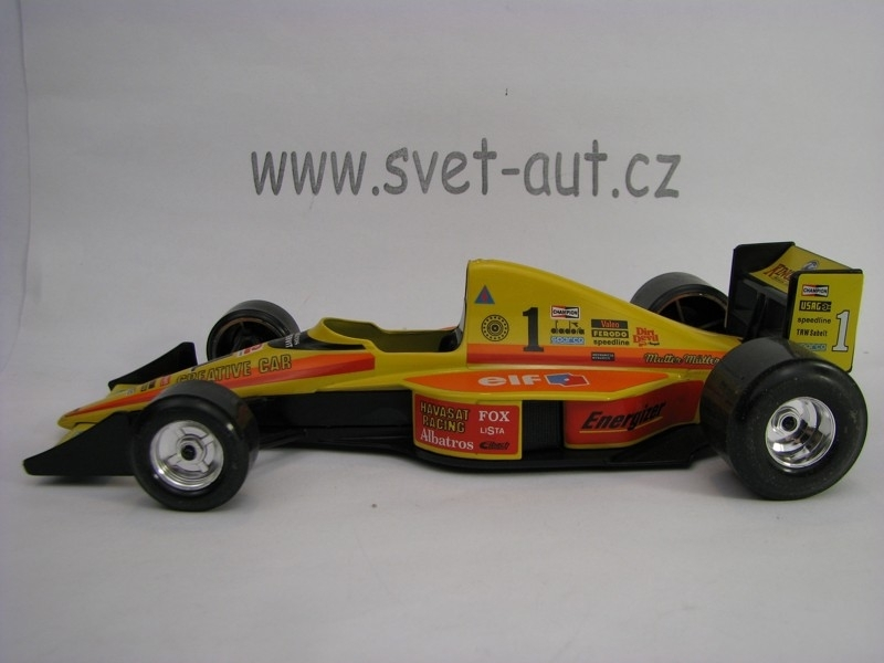 Formule Racific Grand Prix No.1 Elf 1:24 Bburago Italy Bazar