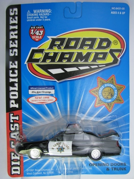 Ford Crown Victoria Highway Patrol 1:43 Road Champs