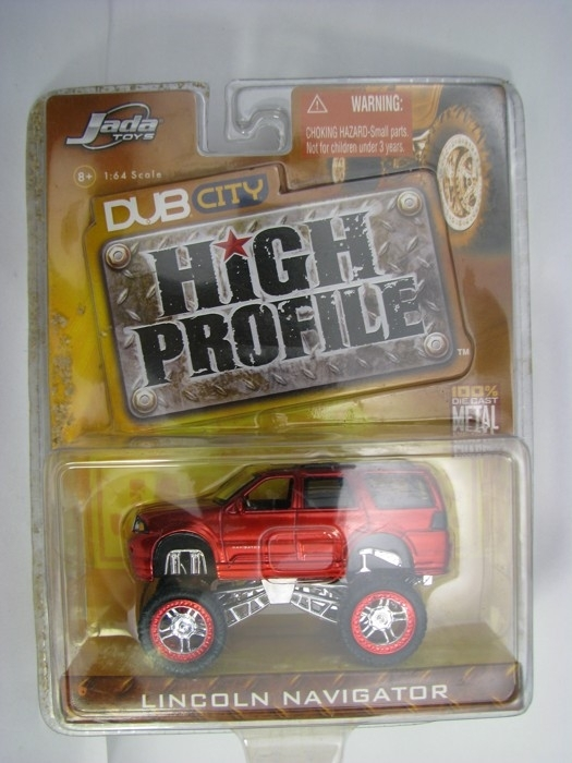 Lincoln Navigator DUB city Red 1:64 High Profile Jada Toys