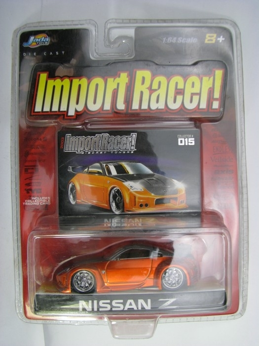 Nissan 350 Z 2006 Orange 1:64 Import Racer Jada Toys