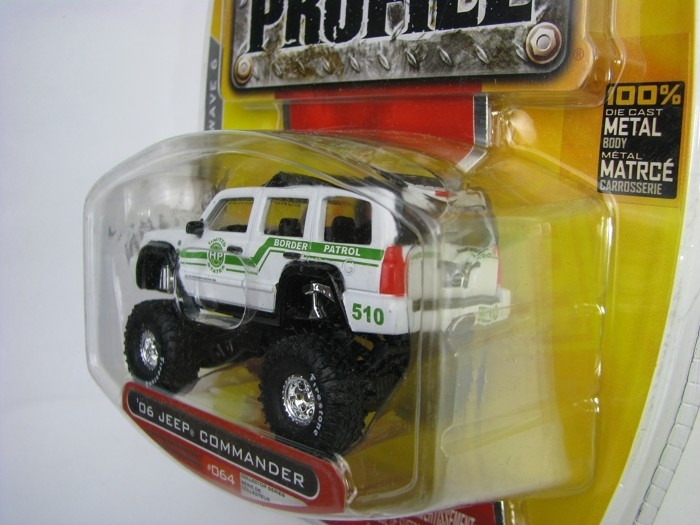 Jeep Comander 2006 Border Patrol 1:64 High Profile Jada Toys