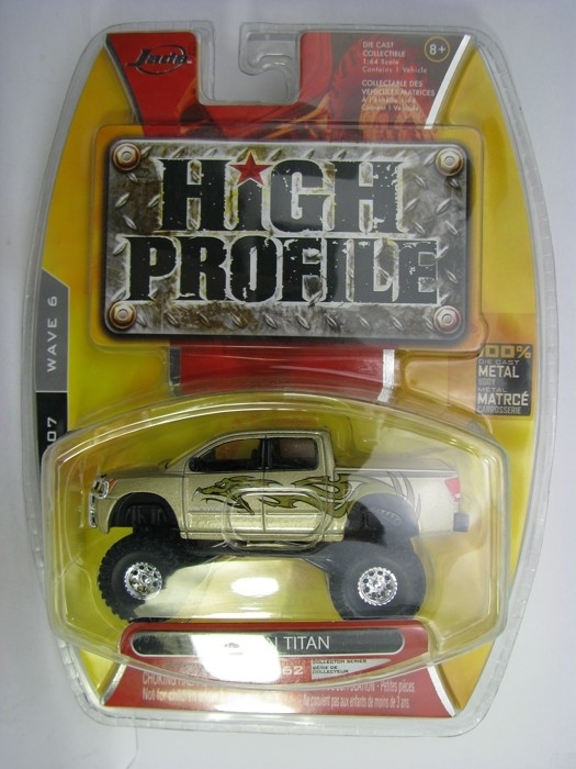 Nissan Titan 2005 Pickup 1:64 High Profile Jada Toys