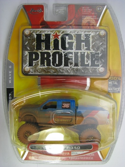 Ford F-350 Blue No.35 2008 Pickup 1:64 High Profile Jada Toys