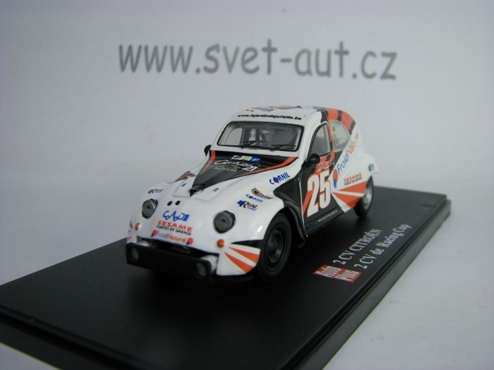 Citroen 2CV de Racing Cup No.25 1:43 Hachette Auto Plus