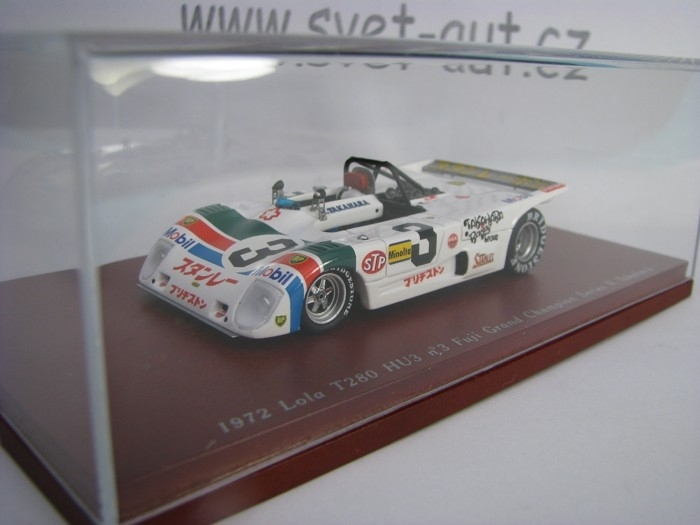 Lola T280 HU3 No.3 Fuji Grand Champion Series Takahara 1:43 TSM