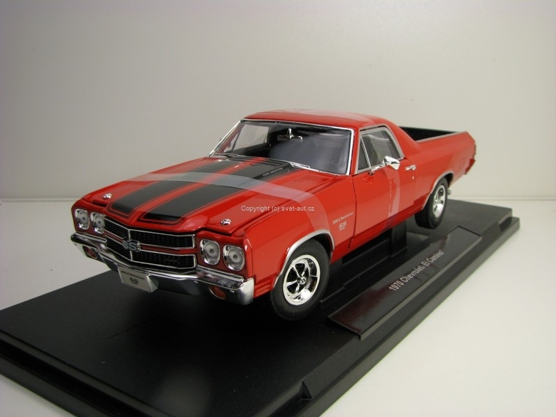 Chevrolet El Camino 1970 Red 1:18 Welly