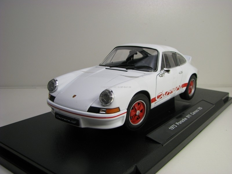 Porsche 911 Carrera RS 1973 White 1:18 Welly