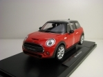 New Mini Hatch Red 1:18 Welly