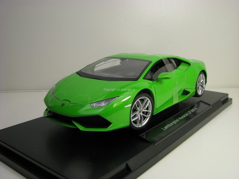 Lamborghini Huracán LP 610-4 Green 1:18 Welly