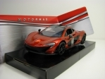 McLaren P1 Orange metallic 1:24 Motor Max