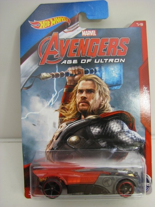 Hot Wheels Avengers Buzz Bomb Thor