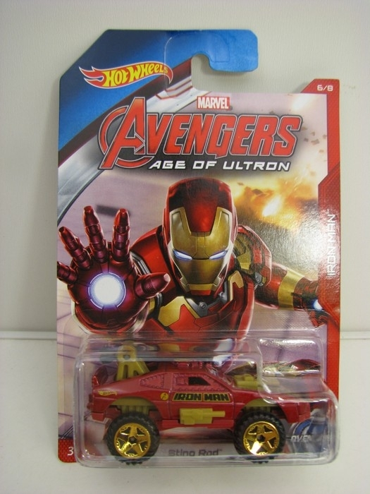 Hot Wheels Avengers Sting Rod Iron Man