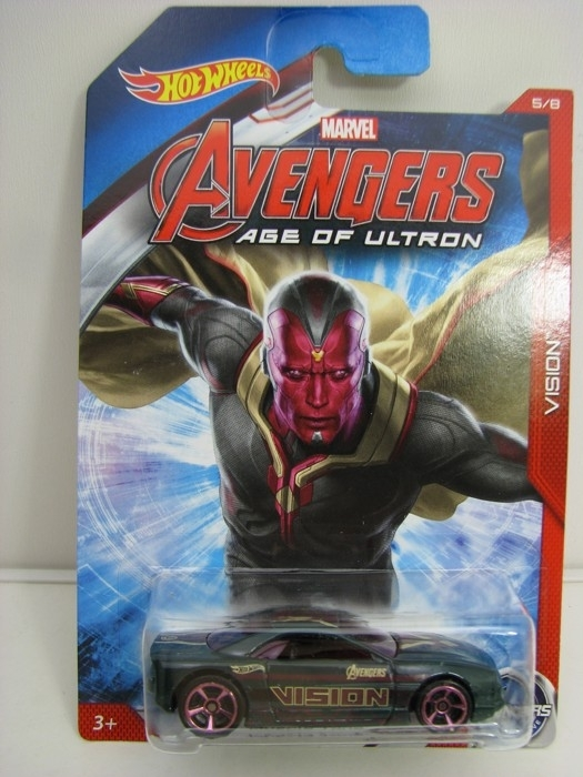 Hot Wheels Avengers Muscle Tone Vision