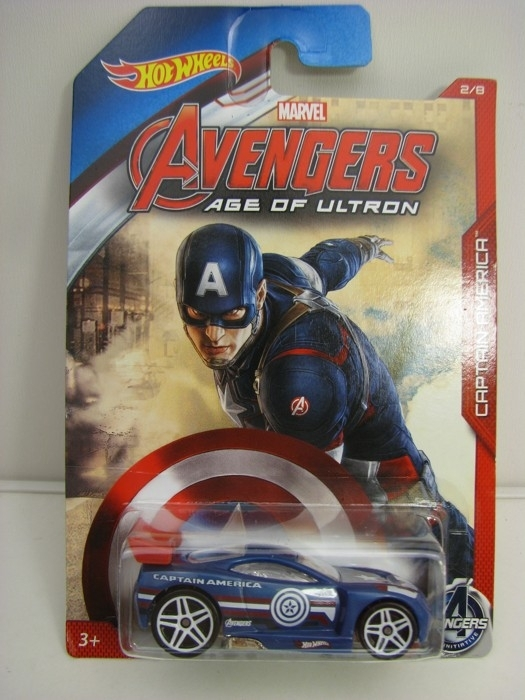 Hot Wheels Avengers Power Rage Captain America