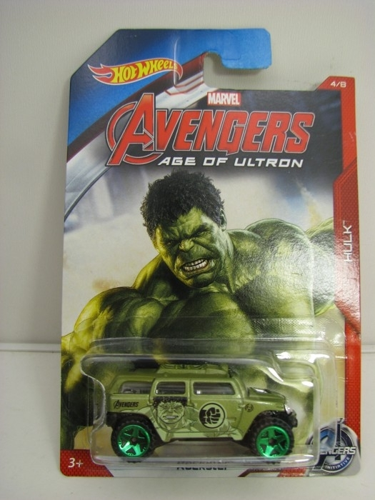 Hot Wheels Avengers Rockster Hulk