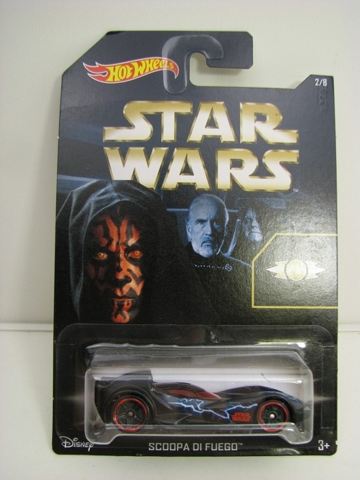 Hot Wheels Star Wars Scoopa Di Fuego