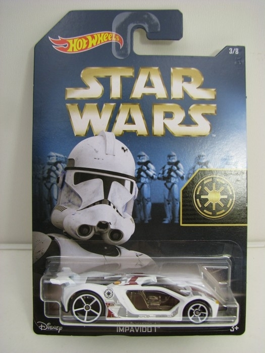 Hot Wheels Star Wars Impavido 1