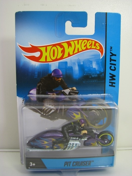 Pit Cruiser Hot Wheels Motorcykles w-Figures HW City