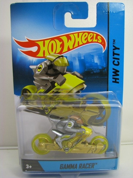 Gamma Racer Hot Wheels Motorcykles w-Figures HW City