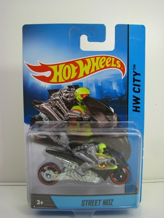 Street Noz Hot Wheels Motorcykles w-Figures HW City