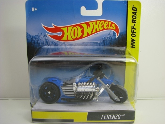Hot Wheels Motorcykles HW Off-Road Ferenzo