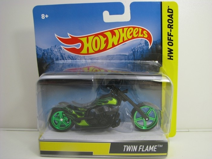 Hot Wheels Motorcykles HW Off-Road Twin Flame