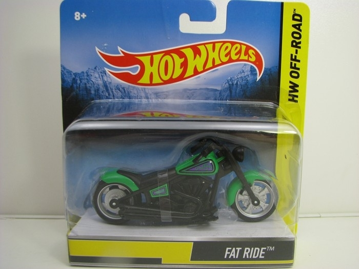 Hot Wheels Motorcykles HW Off-Road Fat Ride
