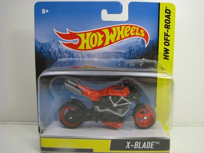 Hot Wheels Motorcykles HW Off-Road X-Blade