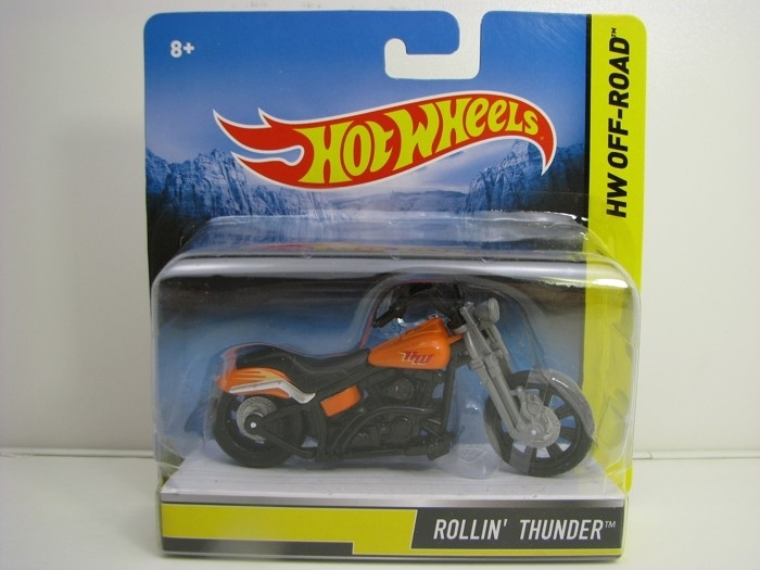 Hot Wheels Motorcykles HW Off-Road Rollin Thunder