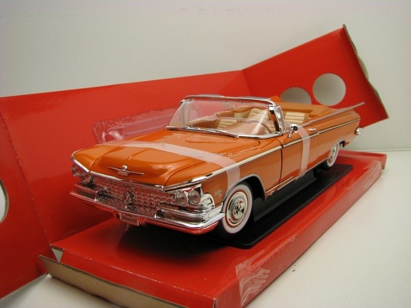Buick Electra 225 Cabrio 1959 Orange Brown 1:18 Yat Ming