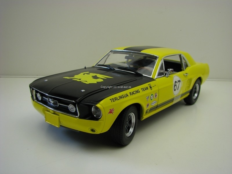Ford Shelby Mustang No.67 Terlingua Continuation 1:18 Greenlight