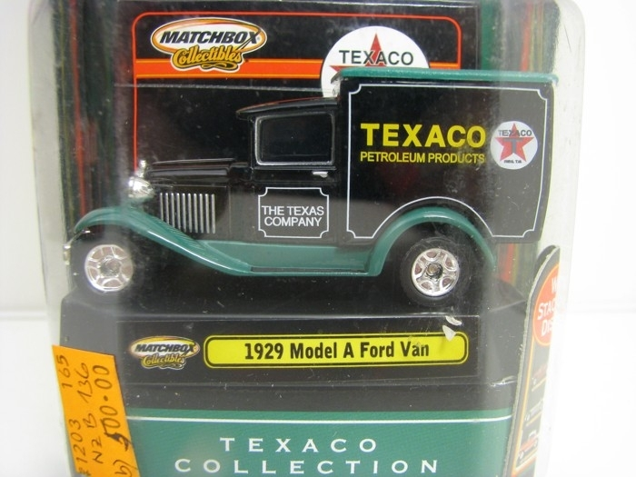 Ford Van Model A 1929 Texaco Matchbox Collectibles